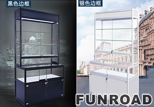 FUNROAD可拆装多功能珠宝展示柜效果图
