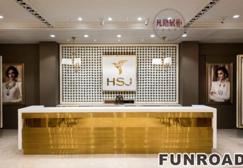 印度HSJ珠宝店展柜设计效果图