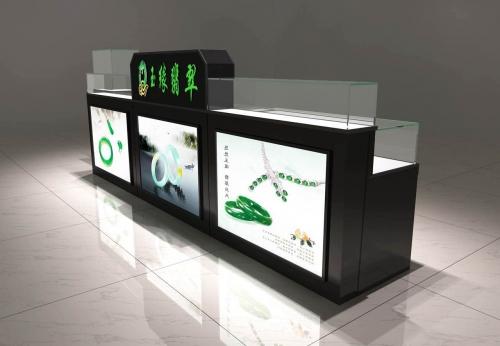 玉缘翡翠珠宝展示柜设计制作